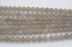 grey agate,gray agate 8mm faceted round bead 15.5 inch-natural gemstone,loose beads, wholesale beads,gemstone beads,jewelry making beads