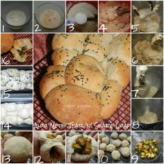Step by Step Aloo Methi Tear 'n' Share Loaf Indian Foods, Indian Food Recipes, Aloo Methi, Good Food, Yummy Food, Naan, Food To Make, Tasty, Bread
