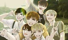 BTS Butterfly Fanart