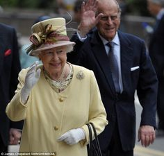 Queen Elizabeth and the Duke of Edinburgh viewed venues for the upcoming Commonwealth Games in Glasgow t