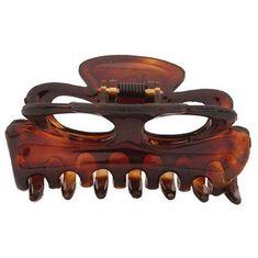 Caravan Small Flat Hair Claw Tortoise Shell Model No 742 * undefined #StylingToolsandAppliances