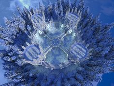 Ice Hub/Spawn Minecraft Project