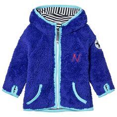 Nova Star Hooded Fleece Jacka Blå