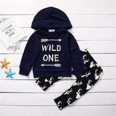 2 PCS Nouveau-Néche Tops + Cerfs Pantalon Leggings Vê Romper Pants, Pants Outfit, Cute Baby Clothes, Clothes For Sale, Long Hoodie, Sweater Hoodie, Leggings, Baby Boy Outfits, Kids Outfits