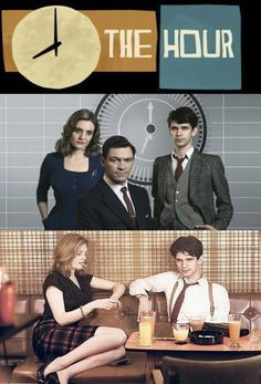 The Hour BBC TWO/BBC America  One of my favorite shows! Brilliant cast and storytelling.