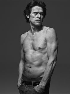 Mark Abrahams portrait of actor Willem Dafoe