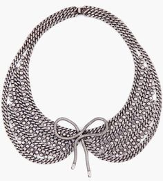 Statement necklace #style #trend