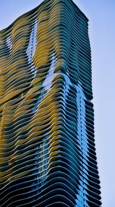 Jeanne Gang's Aqua Building- Chicago, Illinois