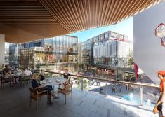 Benoy Unveils Design for Gala Avenue Westside in Shanghai's Harbour City,Courtesy of Benoy