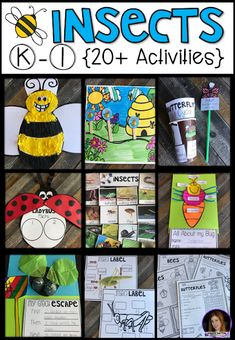Task Shakti - A Earn Get Problem Insect 20 Activities For Kindergarten. Is it accurate to say that you are Looking For A Factual Unit To Introduce Insects In Your Kindergarten And First Grade Classroom? Our Insect Unit Is Just What You Need Insect Activities, Spring Activities, Science Activities, Educational Activities, Kindergarten Rocks, Kindergarten Activities, Elementary Science, Elementary Schools, Thematic Units
