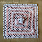 Ravelry: Bunny for Bunny lovey/security blanket pattern by Elysia McWatters