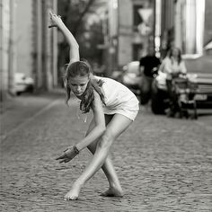 A beautiful dancer's pose...something I'd love to start doing again....
