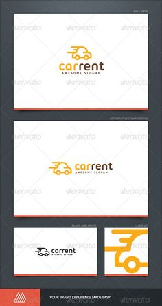 Car Rent Logo Template — Vector EPS #company #logotype • Available here → https://graphicriver.net/item/car-rent-logo-template/8746246?ref=pxcr
