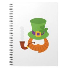 Funny St. Patrick's Day for Kids Boy Notebook - toddler youngster infant child kid gift idea design diy