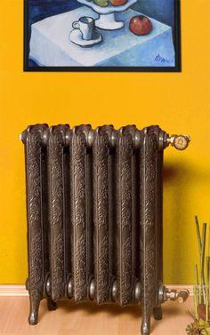 Grzejnik żeliwny - Laurens - Art Deco