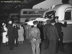 Evacuation of hospitals, Manchester, 1939