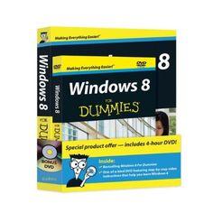 Windows 8 For Dummies Book + DVD Bundle by Andy Rathbone, http://www.amazon.com/dp/111827167X/ref=cm_sw_r_pi_dp_JzcZrb116MJEK