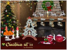 Christmas set III by Severinka - Sims 3 Downloads CC Caboodle