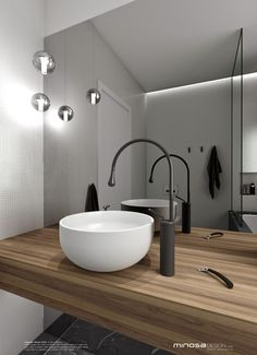 Minosa Design: Bathroom Design - Small space feels large