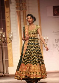 Fashion: Preity S Kapoor Shows Aamby Valley India Bridal Fashion Week 2013 Day 5