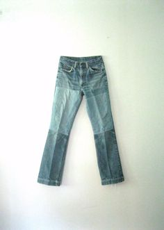 Vintage 70s Levis jeans / orange tab by TheBlueSkyBoutique on Etsy