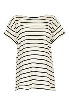 Comfy! Topshop Stripe Maternity Tee