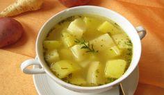 Potato Broth with Garlic Recipe. How to prepare Potato Broth with Garlic. Heat the oven to 374°F (190 °C), put the 2 garli...