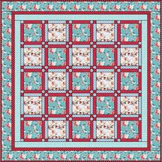 Sew the Row Quilt Pattern - Learn how to quilt with this free quilting pattern. Free printable!