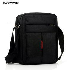Men s Bags · KAKINSU Male bags Waterproof Nylon Oxford Cloth Travel bag  Fashion Business Men shoulder bags Casual Messenger 161b28980f812