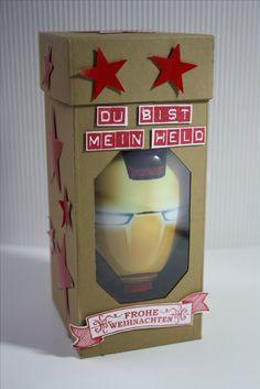 Verpackung für Iron Man Duschgel, Du bist mein Held / You are my hero