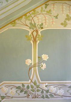 Motif Art Deco, Art Nouveau Design, Design Art, Art Nouveau Interior, Craftsman Wallpaper, Wassily Kandinsky, Mary Engelbreit, Jugendstil Design, Art Deco Buildings
