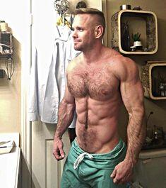 Doctor Steve in his scrubs