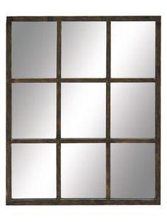 CHEAPER- Rectangular Framed Wall Mirror by UMA at Gilt