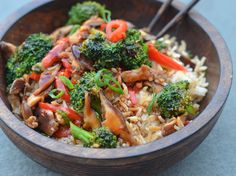 Broccoli doesn't have to be a boring, bland side dish. When you liven it up with flavor, broccoli can be the star of the meal. From Chinese Vegetable Sti...