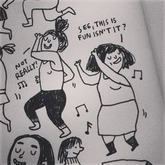 from my sketchbook © Gemma Correll