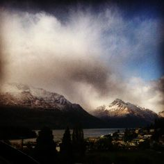 Photo by davidlpearse  Freshies on the hills in #Queenstown this morning #Cardrona here we come