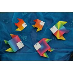 Origami Fisch basteln | Wie Du diesen tollen Fisch ganz einfach nachbasteln kannst, zeigen wir Dir in unserem Video-Tutorial: http://www.trendmarkt24.de/bastelideen.origami-fisch.html#p