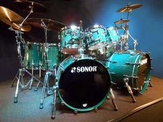 Steve Smith's Journey, 1997 Sonor Designer, 8 Piece Drum Set, Authenticated