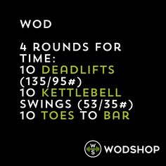 WOD workout of the day