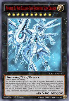 Number Neo Galaxy-Eyes Shooting Star Dragon by on DeviantArt Yugioh Dragon Cards, Yugioh Dragons, Custom Yugioh Cards, Custom Cards, Yu Gi Oh, Dark Magician Cards, Yugioh Decks, Dragon Ball, Yugioh Monsters