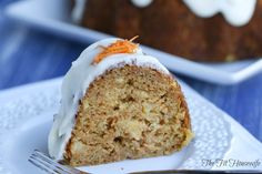 healthy carrot cake7 text Healthy Carrot Cake