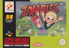 Image result for zombies snes box