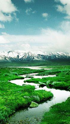 ✯ Norway Mountain River
