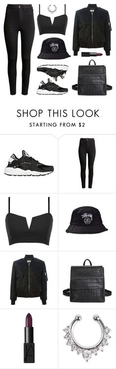 """Marble"" by baludna ❤ liked on Polyvore featuring NIKE, H&M, Yves Saint Laurent and NARS Cosmetics"