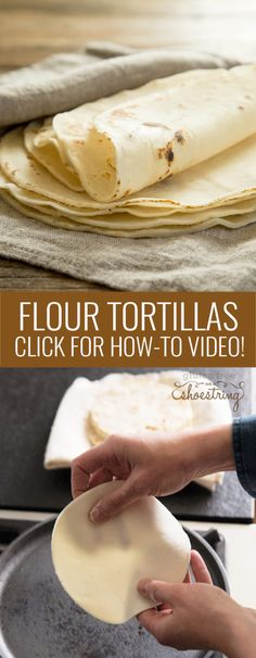 This recipe for gluten free flour tortillas makes the perfect soft, flexible tortillas. Make the best burritos and soft tacos. Click for the how to video!