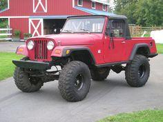DodgeJonRoy 1972 Jeep Commando with CJ5 front clip 12561378