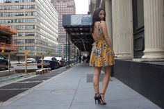 The more leg you expose, the longer they'll look! Keep it tasteful, of course, but higher hemlines will work in your favor.Photo Credit: Born and Bread via @stylelist