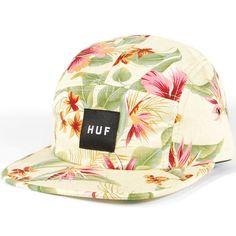 Huf Hawaiian Volley Hat (Cream Blossom) $35.95