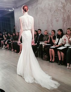 """""""Timeless"""" - Monique Lhuillier Fall 2015 Bridal Collection  