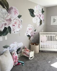 Pastel garden flowers wall decals little ones pinterest floral 2308 gostos 65 comentrios urbanwalls urbanwalls no instagram whether bedroom wall decalsvinyl mightylinksfo